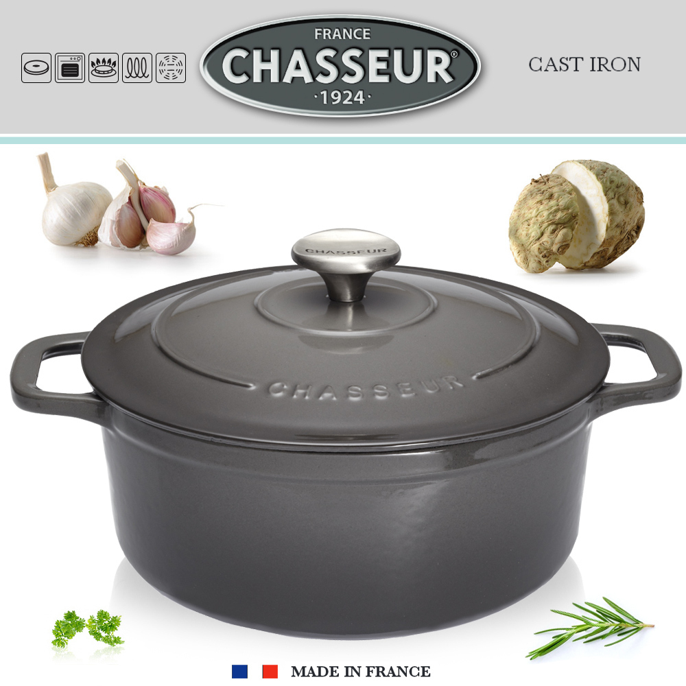 Chasseur - Cocottes rondes - Caviar