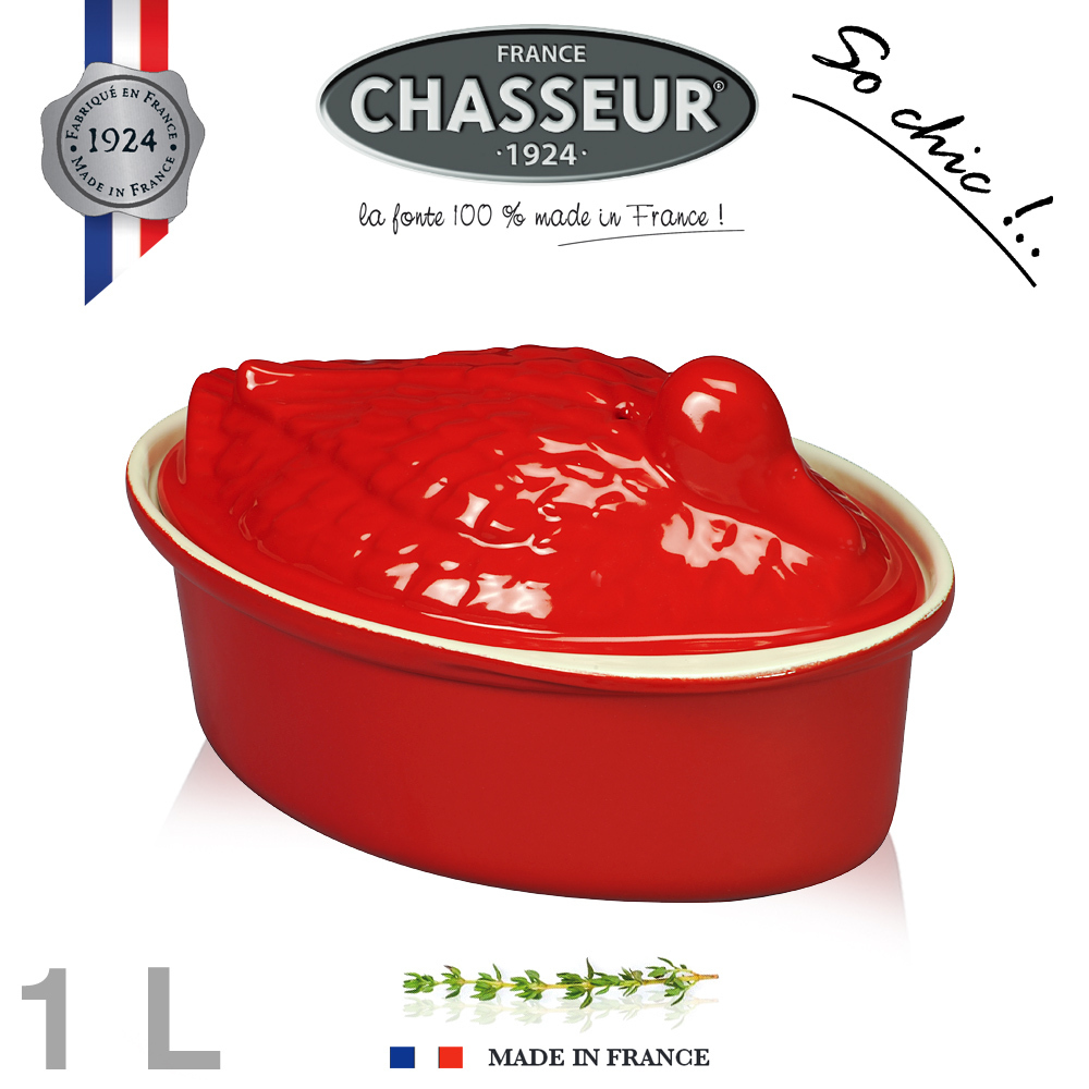 Chasseur - Terrines canard 20 cm