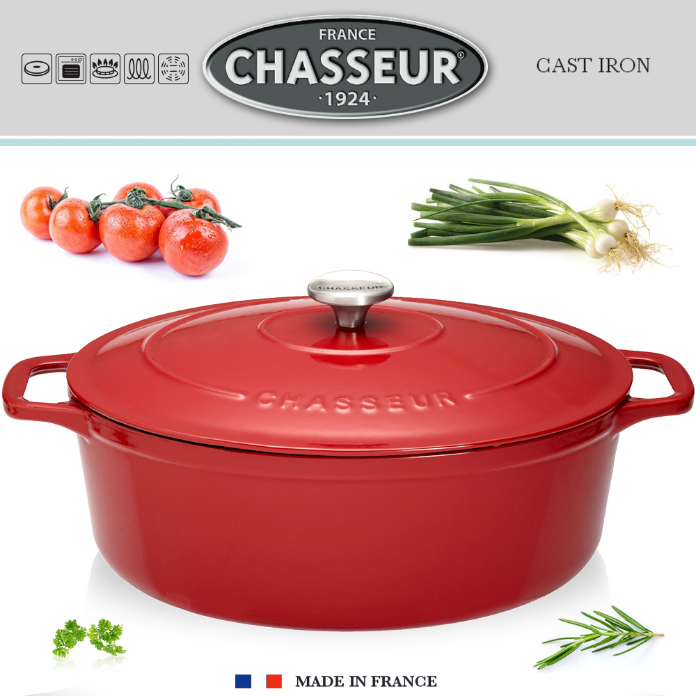 Chasseur - Oval Casserole - Red